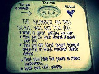 A Word About Weighing In